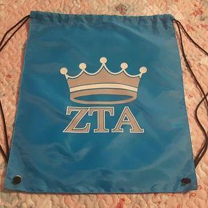 ZTA drawstring bag